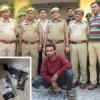 शातिर बदमाश गिरफ्तार, अवैध पिस्टल बरामद