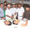 शिविर में तीन सौ से अधिक यूनिट रक्तदान