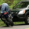 मोटरसाइकिल दुघर्टना में एक की मौत