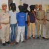 कम्पाउण्डर से मारपीट, लूट में 5 गिरफ्तार