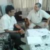 आरएनटी की सीटें बढ़ाने का केन्द्रीय मंत्री से आग्रह