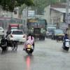 झुमाया मेघों ने, दूसरे दिन शाम को बारिश