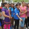 एमजी कॉलेज की छात्राएं पहुंची कलक्ट्रेट