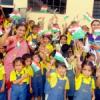बच्चों ने धूमधाम से मनाया झंडा दिवस