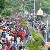 हरियाली अमावस्या के मेले में उमड़ी भीड़