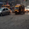 झूम के बरसे बदरा, दो इंच बारिश दर्ज