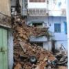 पुराने शहर में गिरे दो मकान