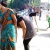 छात्रों ने निखारी न्यू भूपालपुरा पुलिया