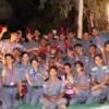 वायु सैनिक कैम्प के अनुभव लेकर लौटे एयर एनसीसी सैनिक