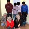 वेश्यावृति के आरोपी महिला-पुरूषों की दिवाली जेल में