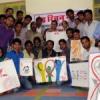एड्स दिवस पर पोस्टर मेकिंग, प्रश्नोत्तरी, व्याख्यान