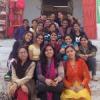 करणी माता पर रेंजरिंग छात्राअों का शिविर