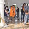 सरकारी स्वच्छता अभियान को गति दी रोटरी हेरिटेज ने