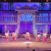 बैम्बू बैण्ड ने बांधा समां, क्रिसमस पर भीड़