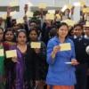 विद्यार्थियों ने बढ़चढ कर हिस्सा लिया अभियान में