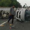 पालनपुर हाइवे पर दुर्घटना में उदयपुर के 4 जनों की मृत्यु