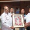 विद्यापीठ में वरिष्ठ इतिहासकार पुरोहित का अभिनन्दन