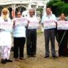 कावड़ यात्रा व शोभायात्रा के पोस्टर का विमोचन
