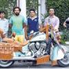 लिजेंड्री राइडर्स की रणकपुर तक बाइक रैली