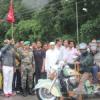 बाइकर्स ने रणकपुर पहुंच दिया सैन्य सेवा का संदेश