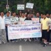 फतहसागर पर चिकित्सकों ने निकाली सडक़ सुरक्षा रैली