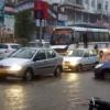 खण्डवृष्टि से भीगा शहर, मौसम विभाग की चेतावनी