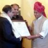हिन्द जिंक के सीईओ जोशी को विश्वविद्यालय गौरव रत्न सम्मान