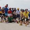 इंटर स्कूल स्केटिंग प्रतियोगिता के चौथे दिन रोड रेस