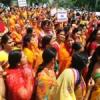 मौन जुलूस निकाल किया जैन समाज ने प्रदर्शन