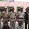 बीस किलो चांदी बरामद, दो गिरफ्तार