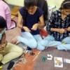 छात्राओं ने बनाई विविध राखियां