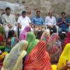 गृहमंत्री ने कच्ची बस्ती में मनाई राखी