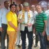 कुलपति ने कार्यकर्ताओं के साथ मनाया जन्मदिन