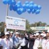 'वॉक फॉर डायबिटीज' में निकाली रैली