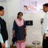 सिंधी बाजार आदर्श आयुर्वेद औषधालय का औचक निरीक्षण