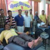 भीण्डर मित्र मंडल का 51 यूनिट रक्तदान