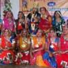 महिलाओं द्वारा भक्ति व शक्ति की प्रस्तुतियां