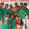 चैम्पियन जैन युवा क्लब को विजेता ट्रॉफी