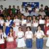 अन्तर विद्यालय कविता प्रतियोगिता में बच्चों ने दिखाया उत्साह