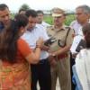 गांधीनगर से वापस लौटीं मुख्यमंत्री, सड़क मार्ग से रवाना
