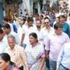 गोरक्षा के लिए कांग्रेस ने निकाला पैदल मार्च
