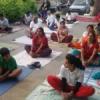 दूधतलाई पर हुआ योगाभ्यास