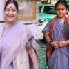 उदयपुर की बालिका को सराहा सुषमा स्वराज ने