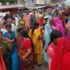 रक्षा बंधन पर बाजारों में भीड़