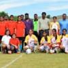 अंतर विद्यालयी बालिका फुटबाल में हेरिटेज गर्ल्स स्कूल चैम्पियन