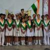 बच्चों ने गाया वंदे मातरम्