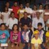 स्कूृल तैराकी में उत्कृष्ट प्रदर्शन पर सम्मान
