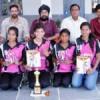 इंटर कॉलेज हेण्डबॉल में गुरु नानक गर्ल्स कॉलेज विजयी