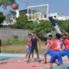 अंतरमहाविद्यायली खेलकूद, बास्केटबॉल कोर्ट का उदघाटन
