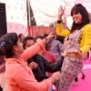 पनिहारिन में गान व नृत्य स्पर्धाओं में झूमी छात्राएं
